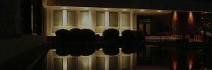 Iluminación exterior resaltar edificio Castellón slider